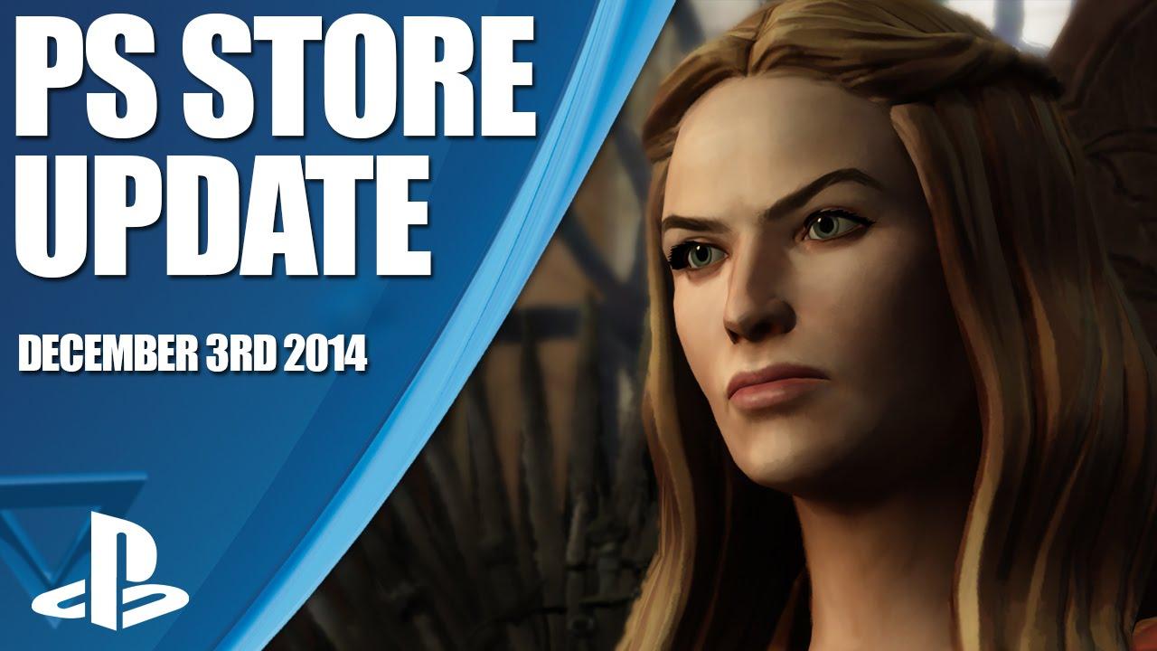Mise à jour du PlayStation Store : Game of Thrones, Tales from the Borderlands et les jeux PS Plus…