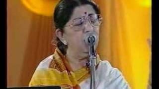 .                         .   Lata Mangeshkar - Jo Wada Kiya (Live Performance)