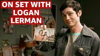 Logan Lerman Behind The Scenes | On The Set Of Hunters | Prime Video