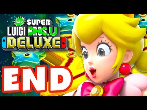 New Super Mario Bros U Deluxe Walkthrough New Super Luigi U