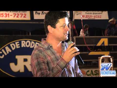 Discurso do Prefeito Ivan Paz na Abertura do Rodeio em Aguiarnópolis