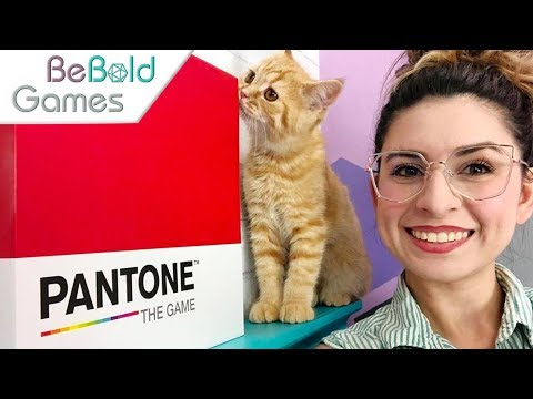 Be Bold Games: Pantone - How to Play
