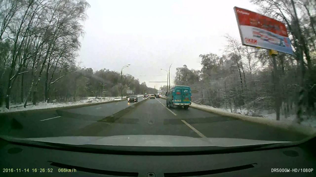 Жесткий замес на Пятницком шоссе