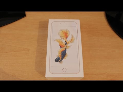 Iphone 6S Plus 64GB GOLD Unboxing