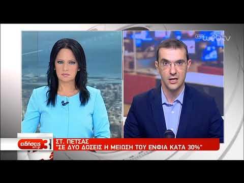 Σ. Πέτσας: Σε δύο δόσεις η μείωση του ΕΝΦΙΑ κατά 30%   20/07/2019   ΕΡΤ