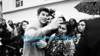 Shawn Mendes - Three Empty Words (Paper Mate InkJoy Live Lyric Video)