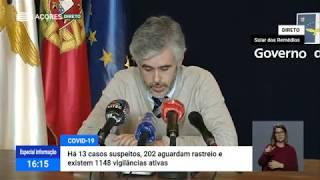 10/05: Ponto de Situação da Autoridade de Saúde sobre o Coronavírus nos Açores