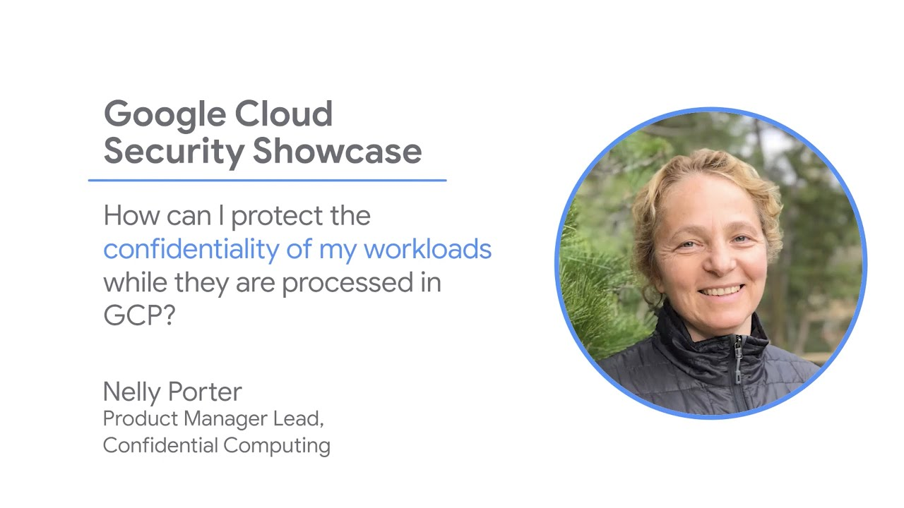 With Confidential Computing, you can ensure the confidentiality of your most sensitive data in the cloud—even while it's being processed. Google Cloud Confidential VMs is now in BETA.