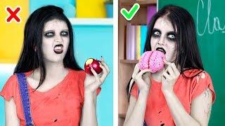 Подписывайся на наш новый канал Пик-а-трик! https://bit.ly/2VFNzKt 19 лайфхаков, которые изменят жизнь девушек: https://youtu.be/T92pbVhRJ0g?list=PLw_MSrc8v85fwxaXVeX10CQzrD3fSWvJR Интересно, что едят зомби? И как это выяснить, чтобы не быть съеденным, если что? А давайте спросим у нашего героя, у которого есть подруга-зомби!  Инструменты и материалы: • Шоколадная глазурь • Сухой завтрак в шариках • Стакан • Резиновая перчатка • Фрутелла • Зубочистка • Длинные жевательные конфеты • Пластиковая коробочка • Этикетка • Готовое пряничное тесто • Шаблон топора • Пищевые красители • Маршмеллоу • Кокосовая стружка • Бисквитные пирожные • Деревянные шпажки • Пергаментная бумага • Шоколадный кекс • Вафли • Персик • Малина • Пластиковый стакан  Больше интересного на Трум Трум:  Самые популярные видео: 11 смешных пранков над друзьями: https://youtu.be/lgc_oB9PHTE Игрушки антистресс из лизунов – 5 идей: https://youtu.be/41qTHIIszJw 9 смешных пранков над друзьями: https://youtu.be/vm0nqPVsiac Канцелярия в виде сладостей – 10 идей: https://youtu.be/BToiJYPPjAg Съедобная канцелярия / 11 смешных пранков над друзьями: https://youtu.be/jycXSj3Y7TE  Самые популярные плейлисты: Смешные пранки: https://www.youtube.com/playlist?list=PLw_MSrc8v85dDBhA0b_b7QBBbHvI_MF-p Назад в школу: https://www.youtube.com/playlist?list=PLw_MSrc8v85dbXD675VK7E8V30ZpbiLBe Лайфхаки: https://www.youtube.com/playlist?list=PLw_MSrc8v85fwxaXVeX10CQzrD3fSWvJR Домашняя косметика: https://www.youtube.com/playlist?list=PLw_MSrc8v85eT8V5Y54vJMGFfPijOjexy Клёвые лизуны своими руками: https://www.youtube.com/playlist?list=PLw_MSrc8v85djEuws3Jf50fg_3bszqeWi  ★ Давай дружить:  Подписывайся на канал: https://goo.gl/kLx8qK Facebook | https://www.facebook.com/troomtroom.rus  Вконтакте | http://vk.com/troomtroom  Pinterest | https://www.pinterest.com/troomtroomru  Instagram | https://www.instagram.com/troomtroomru/  Troom Troom English:  Подписывайся: https://goo.gl/KM3Axw  Troom Troom Español:  Подписывайся:  https://goo.g