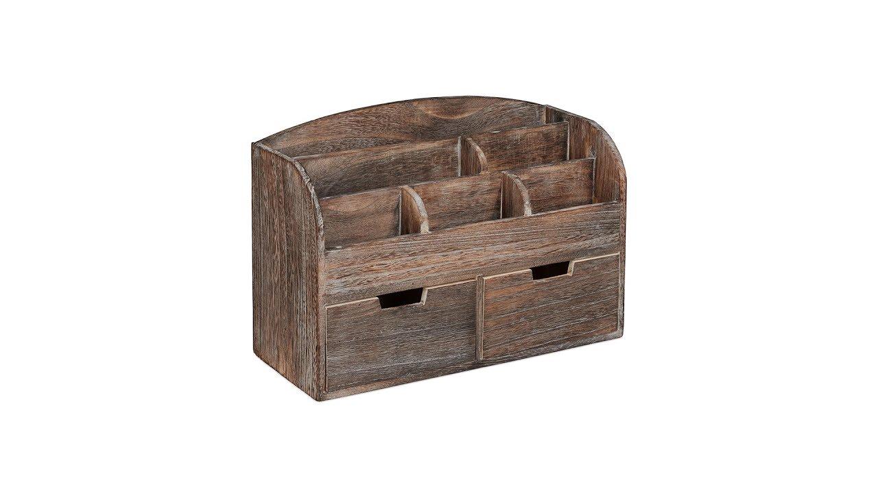 Video von: Organizer Schreibtisch Holz