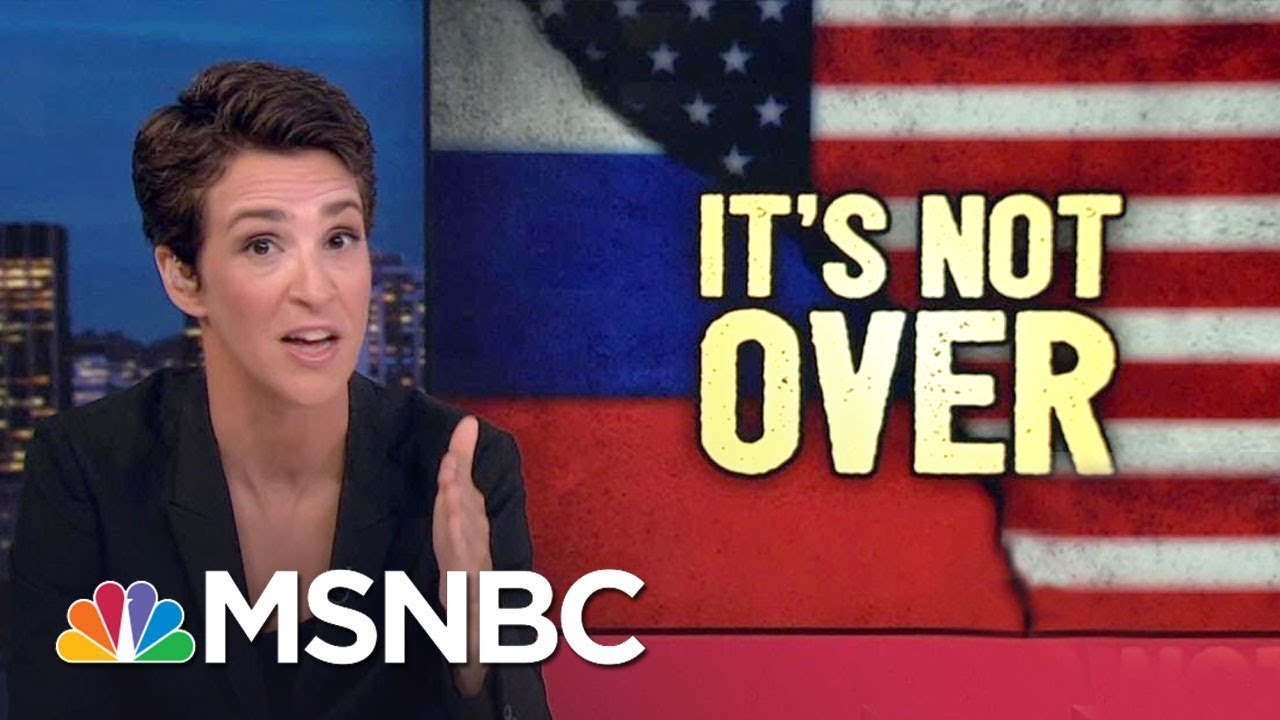 Russia Still Helping Donald Trump, Hacked Mail Story Suggests   Rachel Maddow   MSNBC thumbnail
