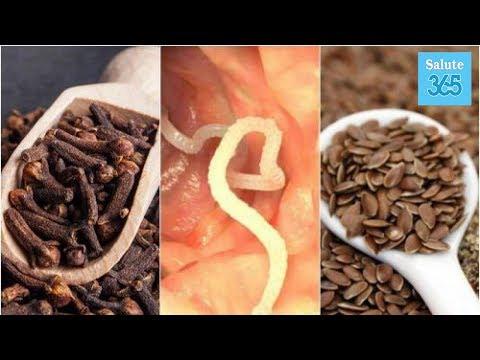 Come si libererà da vermi durante nutrizione