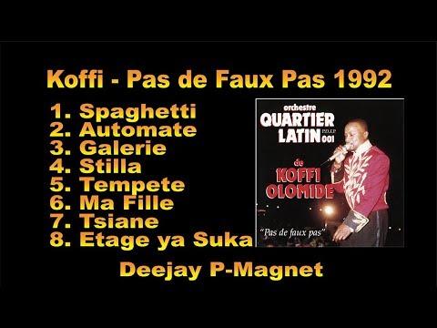 Koffi Olomide – Pas de Faux Pas 1992 Album | Congo Nostalgie