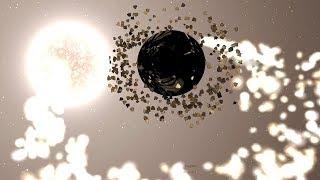 If Saturn's Rings Spun 1,000,000x Faster   Universe Sandbox 2