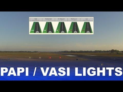 Ep. 18: PAPI Lights | VASI Lights | How they work