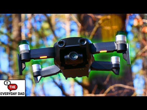 DJI Mavic Air Obstacle Avoidance Trail Test!  Can it ACTUALLY DODGE a tree?!
