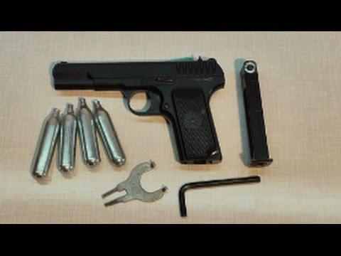 Ремонт КЛАПАНА пневматического пистолета СО2