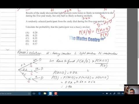 SOA Exam P Sample Question - YouTube