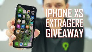 LIVE EXTRAGERE GIVEAWAY IPHONE XS