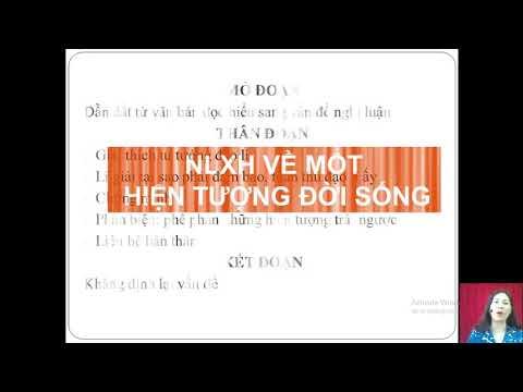 Môn Ngữ Văn 12, Chủ đề: Kĩ năng viết đoạn văn NLXH, Nguyễn Thị Phương Lan THPT Chu Văn An Văn Yên