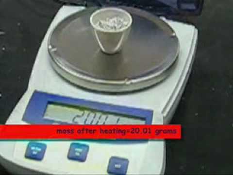 Chem lab hydration