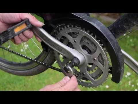 Wechsel eines Shimano Tretlagers (Vierkant) am Trekking-Rad
