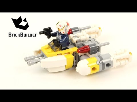 Vidéo LEGO Star Wars 75162 : Microvaisseau Y-Wing