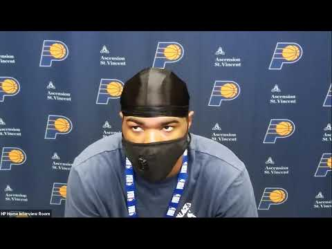 TJ Warren Postgame Interview | Lakers vs Pacers | August 8, 2020