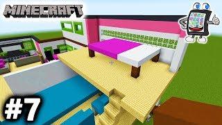 minecraft playmobil luxusvilla bauen 7 deutsch xxl schlafzimmer und erweiterung lets build - Minecraft Kuche Bauen