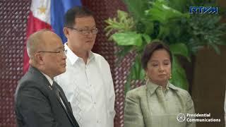Turnover of Marawi Filipino-Chinese Friendship Dome Replica 8/14/2018