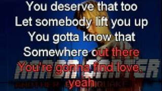 Aaron Carter - Keep Believing  ...::KARAOKE::...