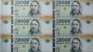 Új húszezer forintos bankjegy