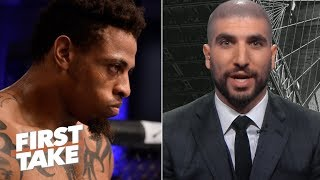 Greg Hardy shouldn't be on the same UFC Fight card as Rachael Ostovich - Ariel Helwani | First Take