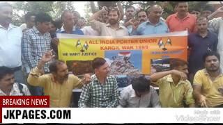 All India Porter Union On Strike