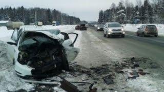 Подборка Аварии и ДТП Январь 2016 Car Crash Compilation Accidents
