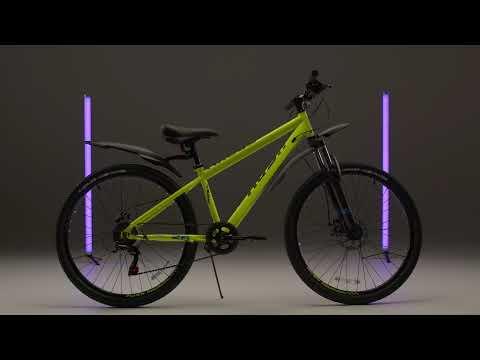 """Велосипед подростковый 26"""" NX605 DISC ST 6ск RUSH HOUR"""