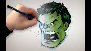 You Can Draw Hulk! | Marvel Draw!