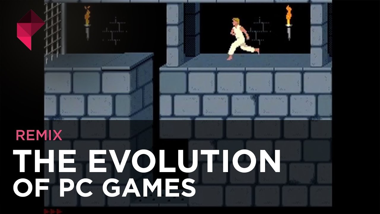 The History Of PC Gaming In 151 Seconds