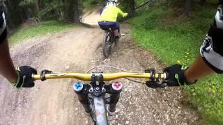 preview picture of video 'Bikepark Livigno - Mottolino MTB Freeride Downhill 2012'