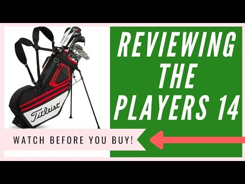 Titleist Players 14 Stand Bag Review | An HONEST Opinion (2018)