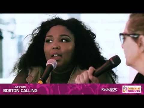 Live from Boston Calling: Lizzo Interview