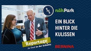 nähPark meets BERNINA - Ein Blick hinter die Kulissen