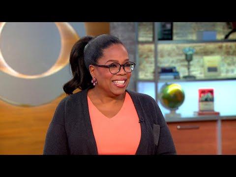 Oprah Winfrey talks new book, intention and Weinstein scandal