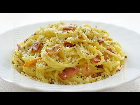 0 Spaghete usor carbonara