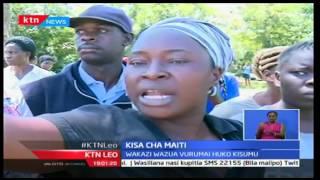 Wakazi wa Kisumu wazua vurugu baada ya polisi kufika na kujaribu kufukua maiti