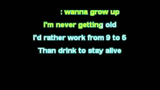 7 Seconds - Young 'Til I Die Karaoke