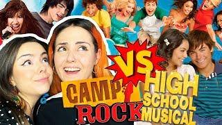 'HSM' VS 'CAMP ROCK' | Andrea Compton ft Berry