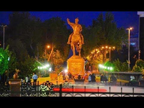 Сайилгох: Сердце вечернего Ташкента.