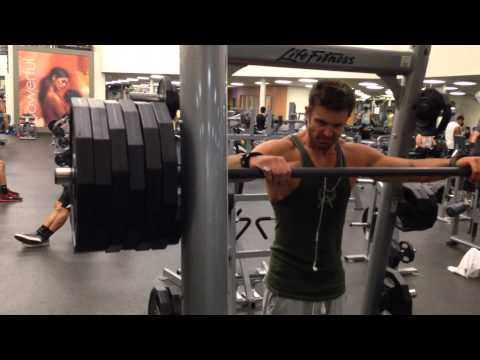 How To Train Calves Heavy And Safe In A Smith Machine