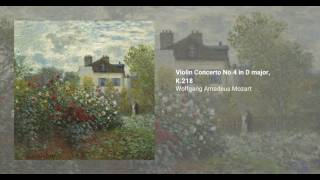 Violin Concerto No.4 in D major, K.218